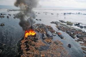 Землетрус обрушив на Японію потужне цунамі