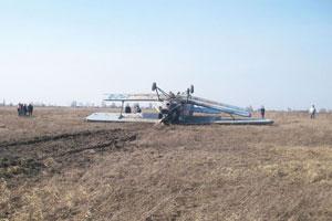 На Житомирщині впав літак