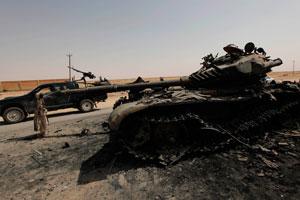 Війська Каддафі розбили загони повстанців