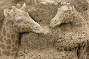 Фестиваль скульптур з піску в Угорщині