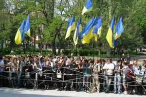У Миколаєві зігнали студентів для зустрічі Януковича