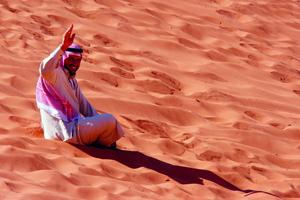 Піски й скелі Місячної долини Ваді-Рум