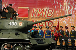 Святкова хода на честь Дня Перемоги у Києві