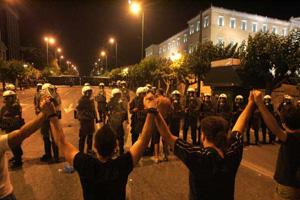 Греки протестують проти влади