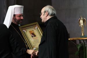 Глава УГКЦ вручив відзнаки в'язня концтабору «Майданек»