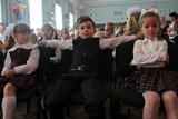 Як Ющенко внука в перший клас водив