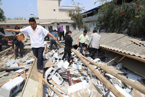 Землетрус в Південному Китаї: Є загиблі
