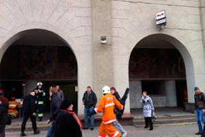Вибух у мінському метро