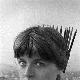 Автопортрет з гребінцем, 1979.