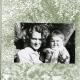 Ліна Костенко з дочкою Оксаною, весна 1957 року.