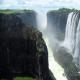 Вікторія, на кордоні Замбії та Зімбабве. 128 м
