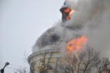 В Одеській області згорів кафедральний собор XIX століття
