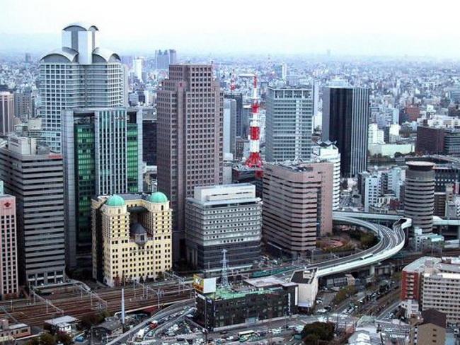 Картинка Осака - деловой центр Японии. - Отзыв о Осака (префек