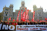 В Іспанії пройшов масовий протест проти реформ трудового законодавства