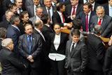 Блокування Верховної ради опозиційними депутатами