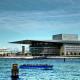Національний центр виконавських мистецтв (Пекін, Китай). Відкрито: 2007 року. Вартість: 300 млн. Кількість місць: 5452 (у трьох залах). Фішка: футуристичний яйцеподібний дизайн посеред штучного озера в історичному центрі