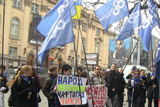 Активісти «ДемАльянсу» взяли в облогу Нафтогаз