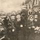 Зустріч євреями голови Директорії УНР Симона Петлюри, м. Жмеренка. 1919 рік.