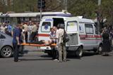 Фото дня. 27 квітня. Серія вибухів у Дніпропетровську, тиждень високої моди у Перу та інше