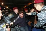 У Києві міліція затримала близько 20 членів ВО «Свобода» під час прес-показу фільму «Матч»
