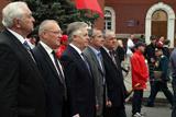 9 травня у Києві: трохи червоного, багато конвалій та непомітні оратори