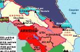 Грузія, Азербайджан, Вірменія - лебідь, рак і щука
