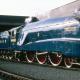 Найшвидшим за всю історія паровозобудування став британський локомотив класу А4 - Mallard