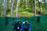 Підводний парк «Зелене озеро»