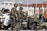 У Кабулі терористи-смертники атакували мікроавтобус з іноземцями