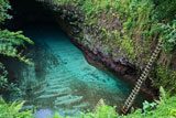 Вулканічне озеро To Sua Ocean Trench