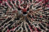 Конкурс людських веж в Іспанії
