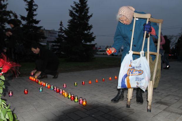 На полтавщині вшанували жертв голодомору