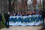 Мітинг футбольних фанатів під Лук'янівським СІЗО