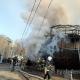 """У січні в районі одеського пляжу """"Аркадія"""" почалася пожежа в ресторані-кораблі """"Ассоль"""" - клуби диму видно навіть із центру Одеси"""