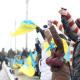 У січні в День Соборності українці об'єднали два береги Дніпра через міст Патона, живим ланцюгом