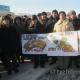 """25 січня 2012 року ліквідатори аварії на Чорнобильській АЕС почали безстрокову акцію протесту з вимогою виконання Закону """"Про статус і соціальний захист громадян, які постраждали внаслідок Чорнобильської катастрофи"""""""