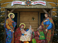 Різдвяні шопки у київських храмах