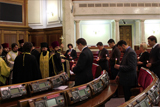 Регіонали в Раді помолилися за примноження добрих справ