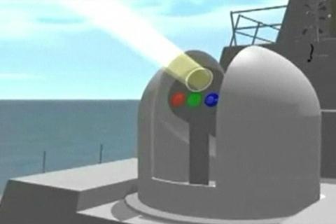 У США випробували лазер, яким озброять ВМС США