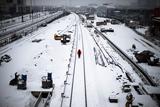 На Польщу обрушилися потужні снігопади