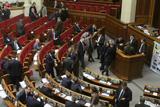 Блокування Верховної Ради. Опозиція вимагає виборів у Києві