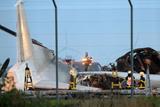 У німецькому аеропорту згорів український літак