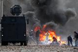 Фото дня. 27 серпня. Лісові пожежі у США, протести фермерів у Колумбії та інше