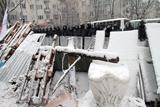 Євромайдан. Барикади в оточенні силовиків