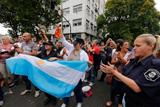 Масові страйки поліції в Аргентині