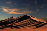 Лівійська пустеля. Піщані дюни безмежної Африки