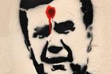 Автор скандального графіті з Януковичем: Чому я не люблю президента? А хто його любить?