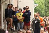 Мешканці Врадіївки блокують райвідділ міліції