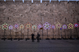Фото дня. 6 червня. Пам'ятна церемонія на честь Уго Чавеса, фестиваль світла у Єрусалимі та інше