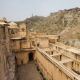 Hill Forts of Rajasthan: Six hill forts in northwestern India, including the Amber Fort near Jaipur, capital of Rajasthan, India, pictured. The forts are evidence of the power of the Rajput princely states that flourished in the region from the eighth to the 18th centuries.